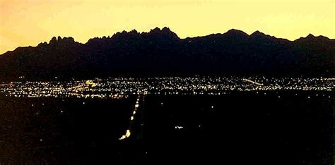 first light bank las cruces new mexico las cruces nm twilight over the mesilla valley with