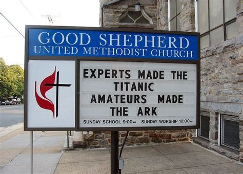 Clever Church Sign Sayings