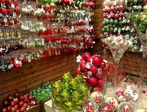 christmas decorations in wandswarth shopping centre london extravaganza at liberty of