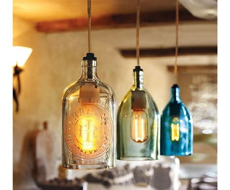 vintage seltzer bottle pendant lights lighting decor