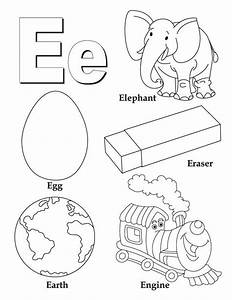 My A To Z Coloring Book Letter E Coloring Page Download Free My A To Z Coloring Book Letter E
