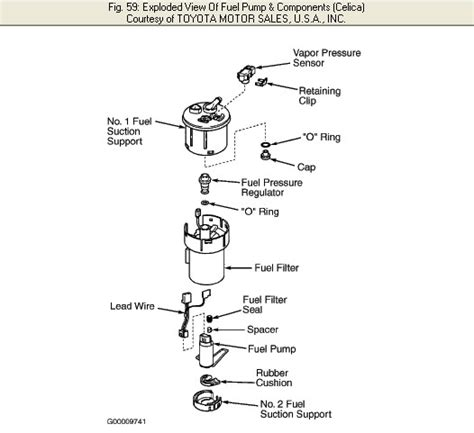 replace  fuel filter    toyota celica gt