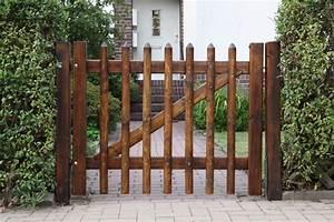 Gartentüren Aus Holz : gartentor holz blickdicht selber bauen ~ Michelbontemps.com Haus und Dekorationen