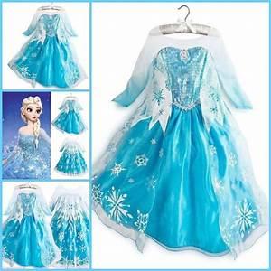 robe de princesse la reine des neiges elsa deguisement With robe la reine des neiges