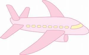Cute Pink Airplane Clipart (40+)