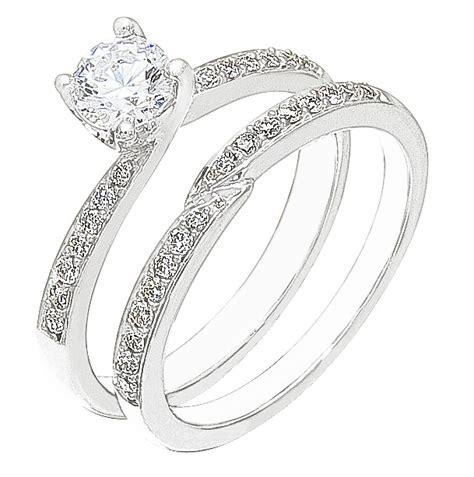 diamond white gold wedding engagement ring