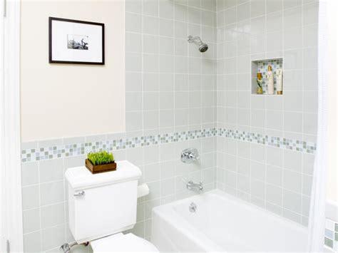 nautical bathrooms bathroom with mosaic border tile guest