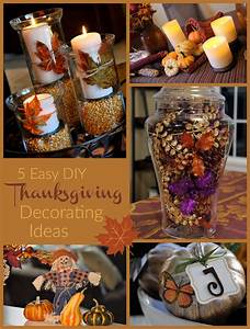 Easy, Thanksgiving, Decorating, Ideas