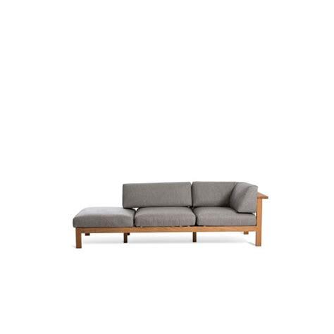 canapé chaise longue canapé chaise longue droite maro teck cordage argile