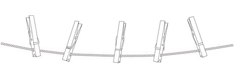 dessin corde a linge la corde 224 linge