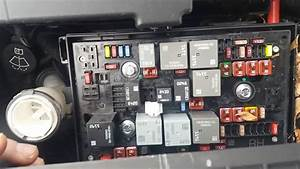 Fuses And Relays Location On Astra J