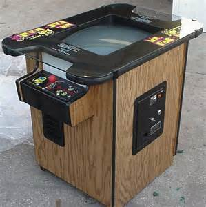 MS Pac Man Arcade Game Table