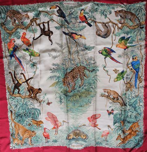 hermes scarf hermes equateur vintage catawiki