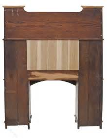 arts and crafts desk arts and crafts bureau desk writing table bookcase