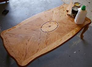 refinish coffee table top coffee tables coffee table With how to stain a coffee table