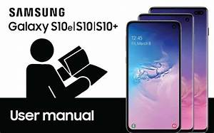 Where And How To Download Samsung Galaxy S10 User Manual