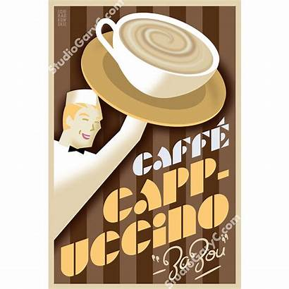 Deco Poster Cappuccino Caffe Posters