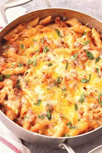 Sausage Cheesy Penne Recipe Pot Pasta Recipes