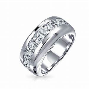 15 photo of men39s wedding bands materials for Wedding ring materials