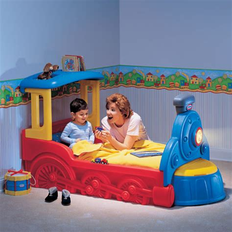 Tikes The Toddler Bed by Tikes Sleepy Time Toddler Bed