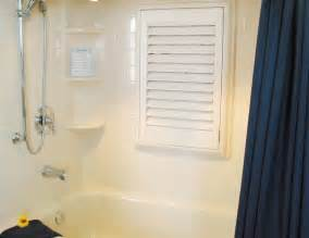 bathroom windows waterproof bath shutters window curtains