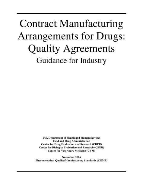11+ Contract Manufacturing Agreement Examples in PDF