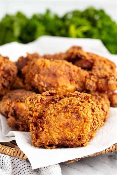 crispy fried chicken recipe perfect fried chicken