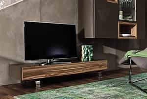 Meuble Deco Design : meuble tv design bois table hifi maisonjoffrois ~ Teatrodelosmanantiales.com Idées de Décoration