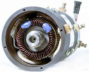 48v    3 8kw Dc Sepex Motor Xq