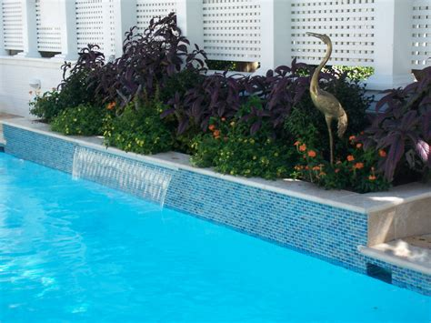 Fiberglass Pool Waterline Tile by Residential Swimming Pool Renovation Hton Roads