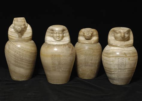 canap ik canopic jars clay whith what to