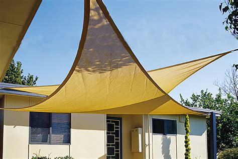 Maribelle 5.0m Triangle Sun Sail Shade Garden Patio Canopy