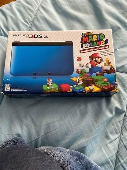 3ds Nintendo Xl Console Mario Clear Murky