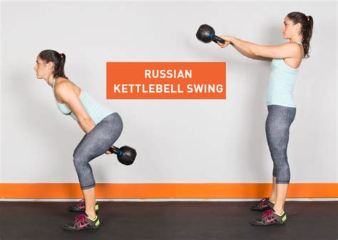 Russian Swing Kettlebell by 22 Kick Kettlebell Exercises Greatist