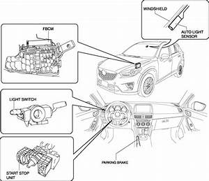Mazda Cx-5 Service  U0026 Repair Manual - Drl  Daytime Running Light  System