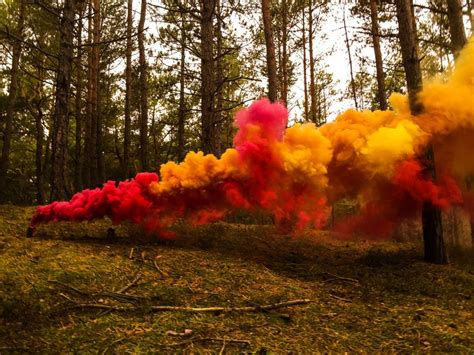 ultimate colored smoke bomb