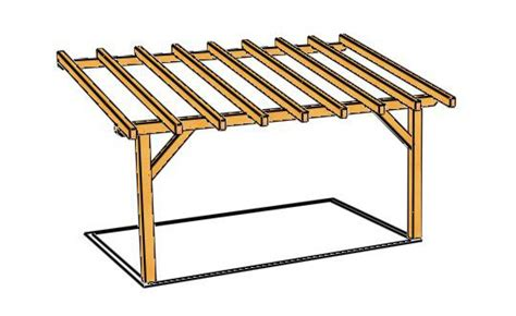 plan de pergola bois gazebo en bois kit mzaol