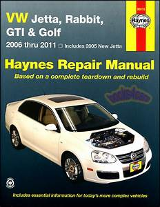 Vw Jetta Gti Golf Rabbit Shop Manual Service Repair Book