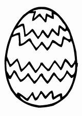 Easter Egg Coloring Pages Outline Printable Template Eggs Outlines Clipart Colouring Sheets Eg Clip Hunt Pattern Getcoloringpages Designs Templates Getdrawings sketch template