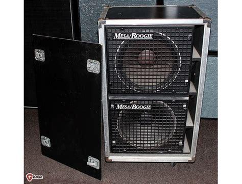 mesa boogie bass cabinet flea 39 s mesa boogie 2x15 road ready bass cabinet equipboard