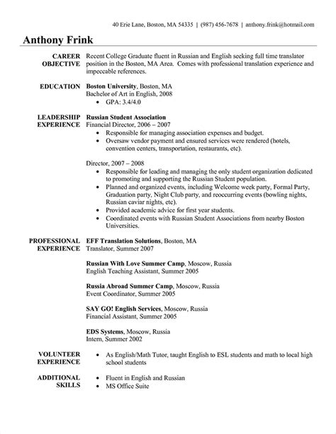 Sle Curriculum Vitae Template by 9 10 Apartment Manager Anschreiben Pencilfest