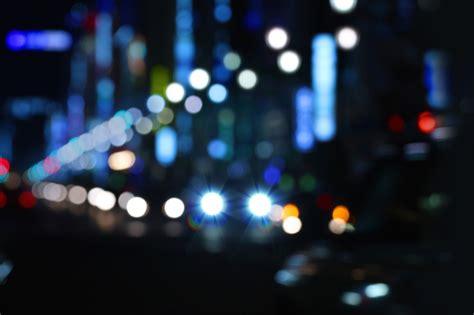 tokyo night lights blurred cities blurred background
