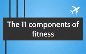 Fitness Charts The 11 Components Of Fitness By Ewan Shingler On Prezi