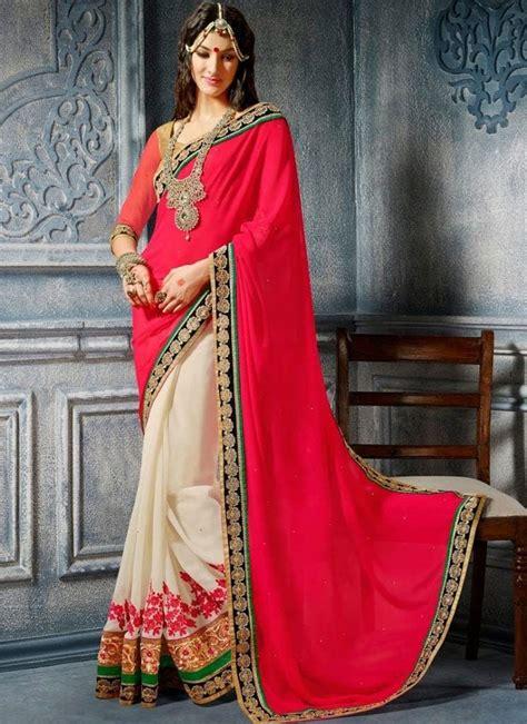 latest indian wedding saree styles    year
