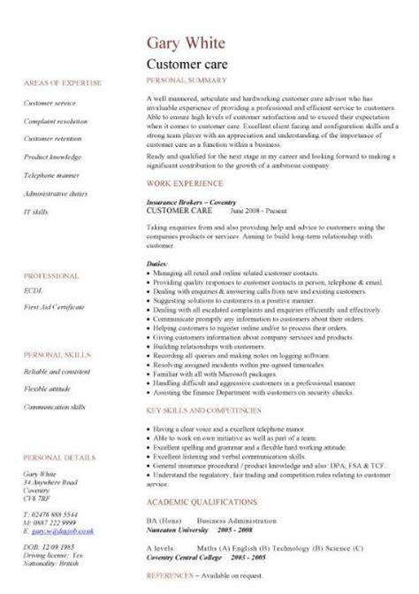 Sales Resume Template