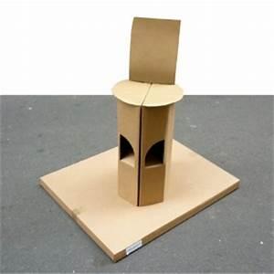 Tabouret A Poils : tabouret pliable en carton sac si ge quart de poil ~ Teatrodelosmanantiales.com Idées de Décoration