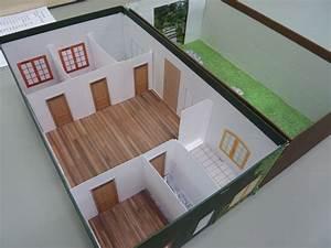 realisation de la maquette d39une maison blog du college With maquette de maison facile a faire