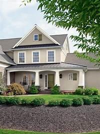 house color ideas 28 Inviting Home Exterior Color Ideas | Exterior paint colors, Exterior paint and Front porches