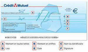 Faux Cheque De Banque Recours : comment remplir un ch que credit mutuel comment remplir ~ Gottalentnigeria.com Avis de Voitures