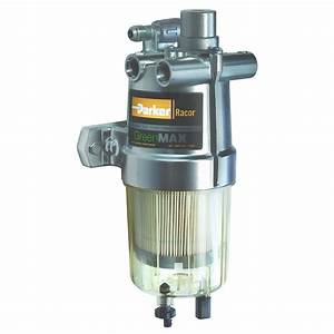 Fuel Filter    Water Separator With Integrated Fuel Heater  U2013 Racor Greenmax U2122 Series